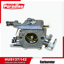 Gas Chainsaw Carburetor of HUS142 HUS137 Saw Spare Parts