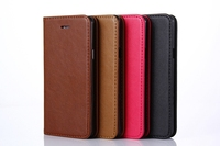 New product Leather Case for iphone 7 cases Retro Style Credit Card Slot Mobile Phone Bag Cover 4 Colors CA1713