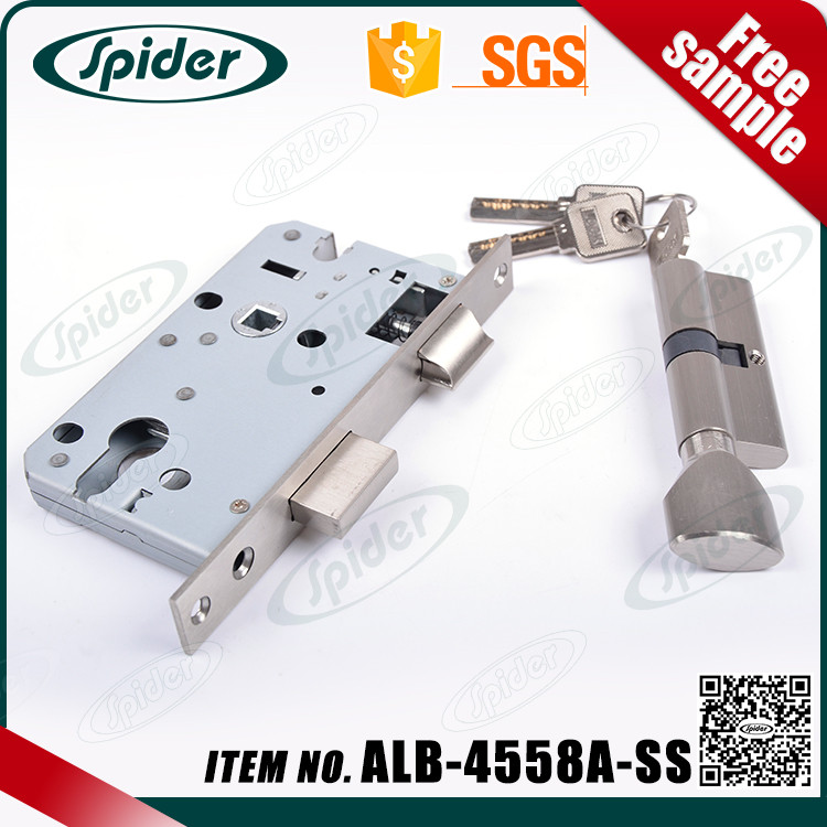 45mm Backset Mortise door lock without handle