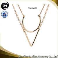 Charm fashion jewelry ebay jewelry with unique products to sell plated in gold chain necklace
