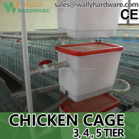 manual poultry feeders and drinkers live chicken cage to transport