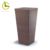 Hot Selling Plastic Planter Rectangle Synthetic wicker Handmade Big small cheap PE rattan garden flower pot