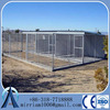 Hot Sale Big Dipped Galvanized Steel Outdoor Dog Kennel, large welded metal dog kennel