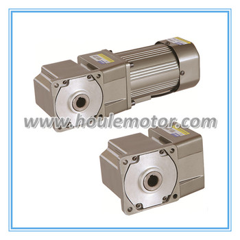 F1S-5 type coaxia square flange reducer hollow output shaft