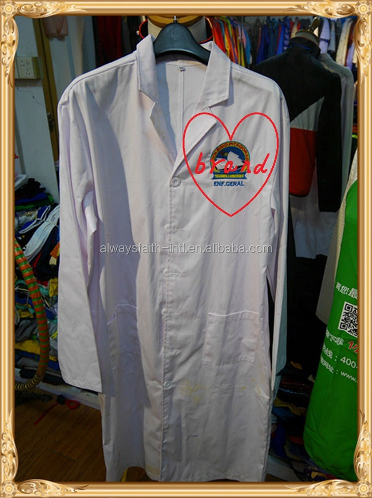 long sleeves cotton doctor uniform and white lab coats and medical scrubs uniform in 2017