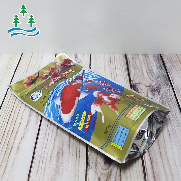 Fishing Bait With Zip And Handle Lock Packaging Zipper Printing Logo Dog Food Ldpe Grade Pe Pa Pet Bopp Plastic Bags
