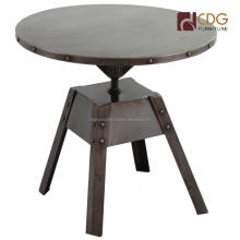 Industrial Metal Side Table Wrought Iron Coffee Table Metal Coffee Table