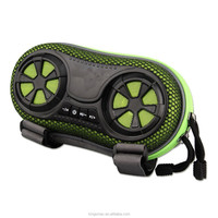 New Portable Wireless Bluetooth Amplified Stereo Speaker Case/Bag-for Climbing,Travelling&Cycling