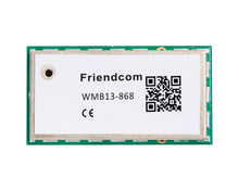 OMS wireless mbus module 433/868 MHz, follows the EN13757-4 protocol