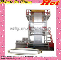 Multilayer Blown Film Extrusion Line with video