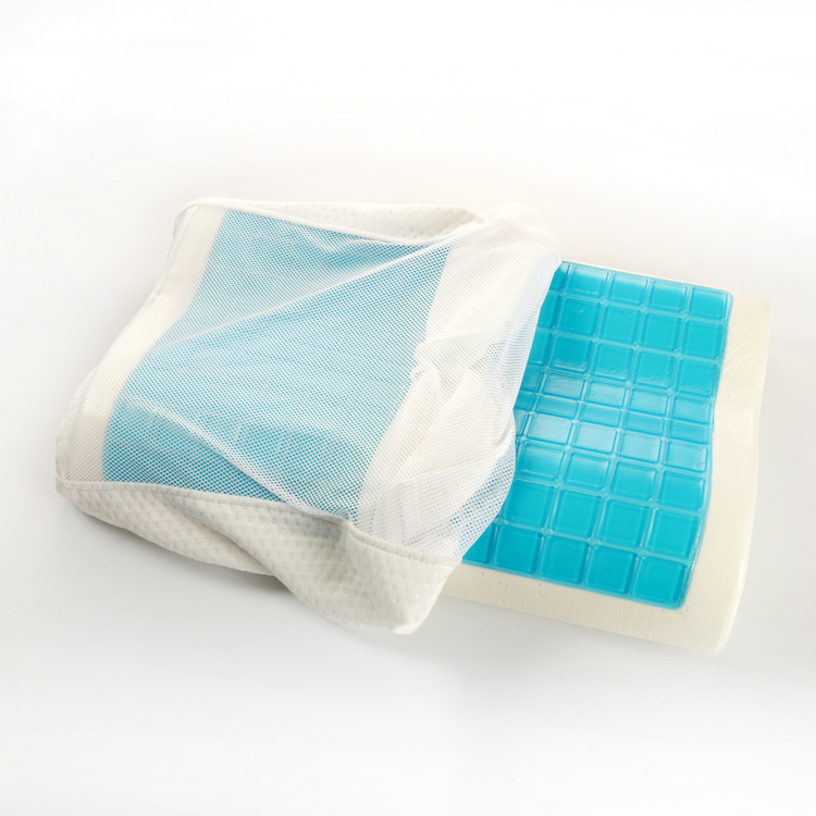 memory foam pillow with gel