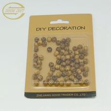 DIY Wooden bead for jewelry