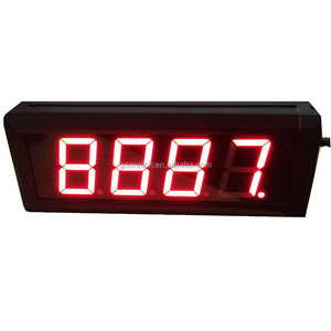 illuminated led bar counter gas station led price digital sign 6 digit digital counter meter