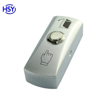 Access control door release button /exit push switch with Back Box