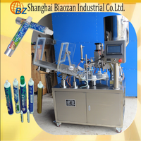 High quality plastic aluminum tube ointment filling sealing machine