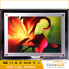 Crystal photo picture frame led magnetic backlit acrylic slim light box for store sign display