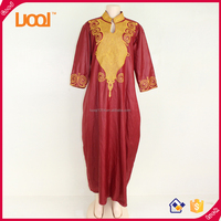 Latest design women african fashion maxi casual dress