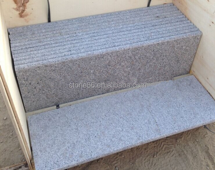 G341 grey flamed granite paving slabs China Slabs for paving ,Flamed tiles for garden