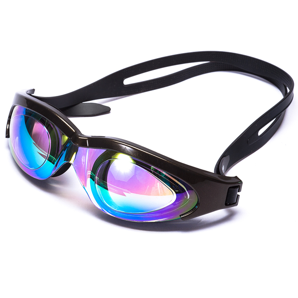 Adult swim gears hot selling swimming goggles without leak professional goggles