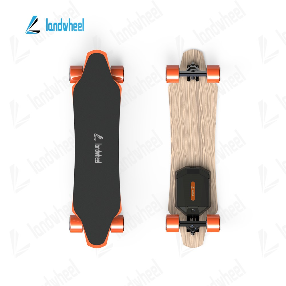 Modern sport style classical electric scooter skateboard four wheel longboard