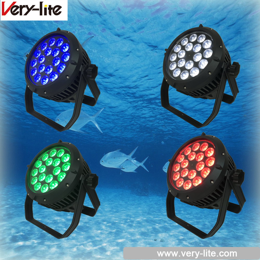 China strobe light 18Pcs*10W led par light waterproof par light for outsaide stage