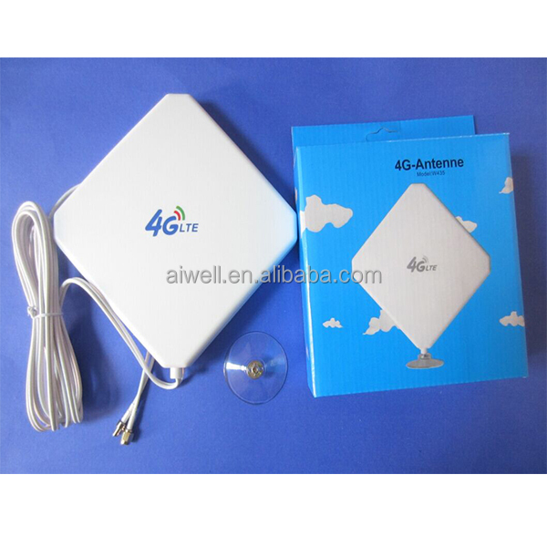 2016 Aiwell Wholesale 600-2700MHZ Mimo 4G LTE Antenna With ts9/crc9 For 3g 4g router with factory price