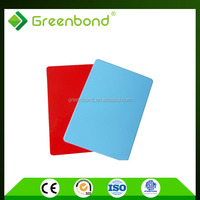 Greenbond hot sales aluminum composite panel hs code with brush finished covering