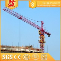 most popular top design tower crane 50ton