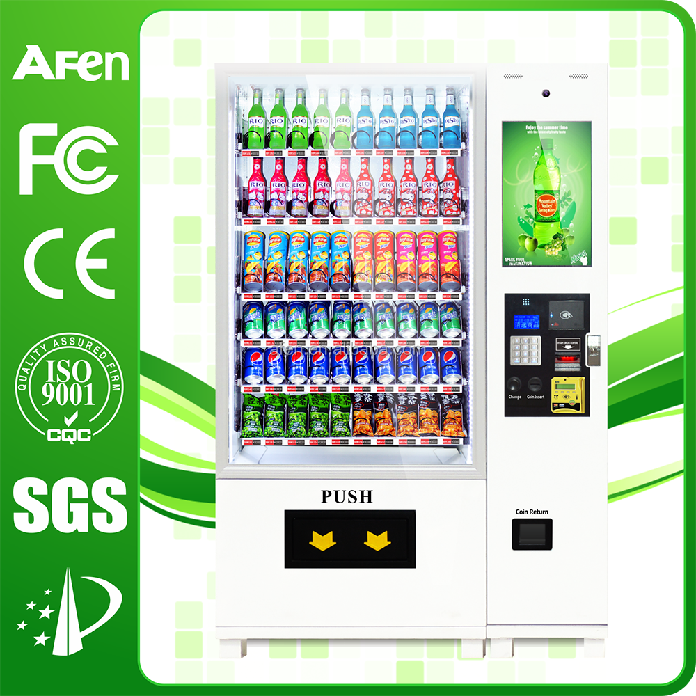 New Design! Cold Drink milk atm Vending Machine