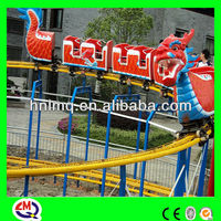 Amusement rides small roller coaster electric train