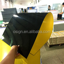 1~200mm Thickness Black Yellow ABS Sheet/ ABS Board/ ABS Sheet Plastic for sign materials