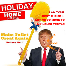 Household Cleaning Tools Donald Trump Toilet <strong>Brush</strong>