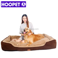 Hot new pet products medium & large size pet detachable bed for large dog with cushion