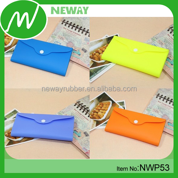 Popular Jelly Silicone Ladies Wallets Wholesale