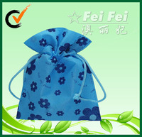 Promotional small gift POUCH warpping drawstring BAG