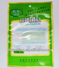 vacuum bag for packing dried bean curd