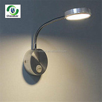 2014 Modern Flexible Mounted Bedroom Wall Lamp Reading Bathroom Light With Switch