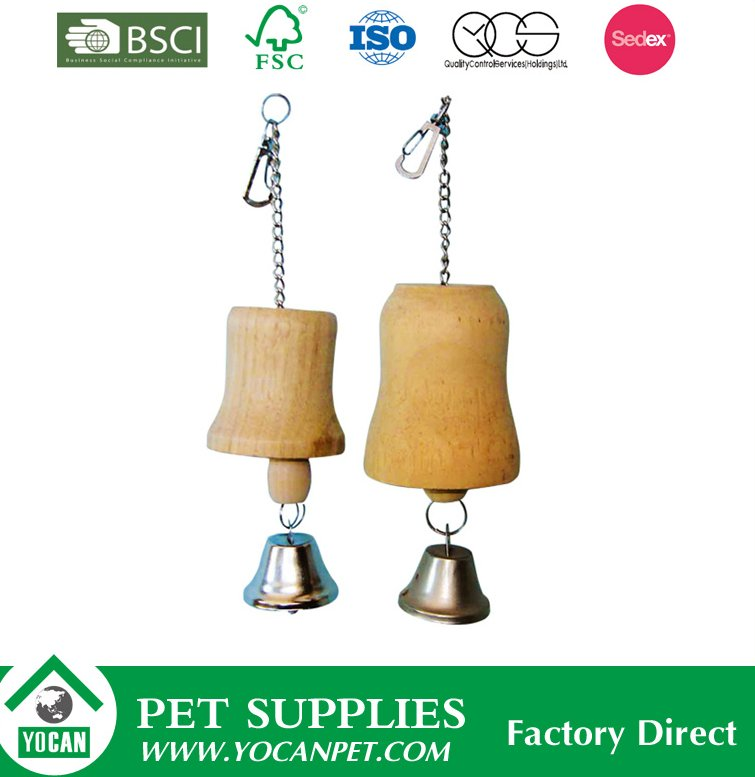 animals and pet wholesale hanging natural wooden bird toys
