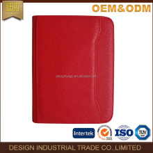 wholesale business a4 size business leather file folder
