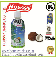 Supplier houssy nata de coco drinks with coconut water