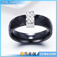 black ceramic rings jewellery diamond rings