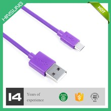 Delicate promotion gift ultra thin micro usb cable