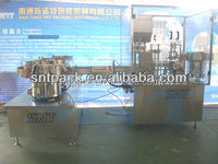 automatic gel tube filling capping machine