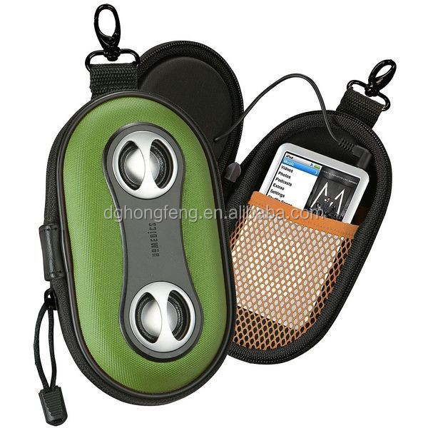 Factory OEM EVA Speaker Case With Hi-fi Sound Mp3 Speaker Bag