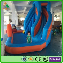 Novel cheapest home pool slide/ large inflatable pool slide/ pool water slide for sale