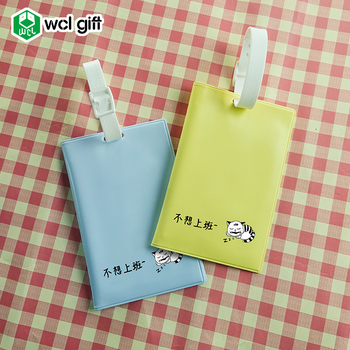 Customized luggage tag and PVC luggage label for travel