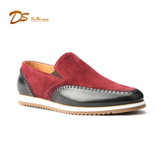 New design latest style men casual shoes comfortable leather casual shoes