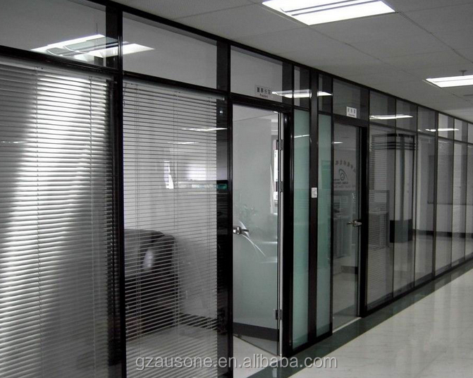 Commercial Furniture glass top partition wall