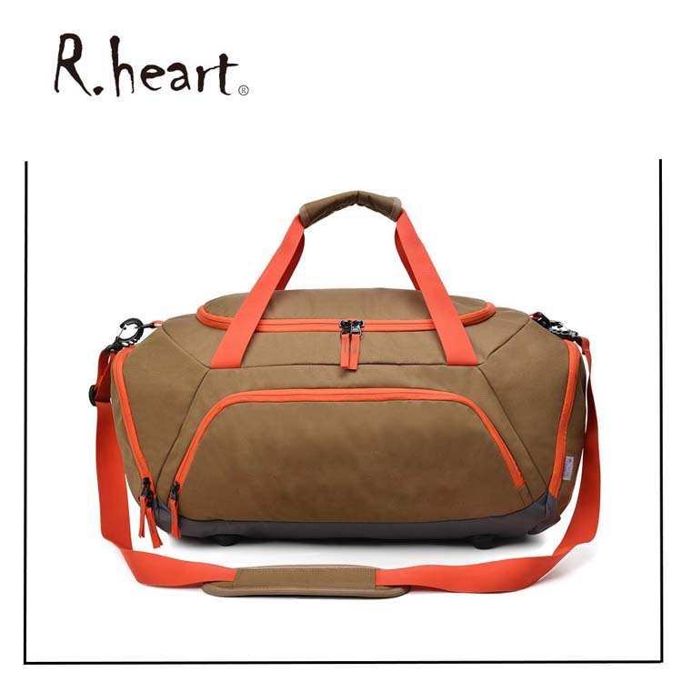 High Quality Fashion Large Polyester Travel Waterproof Wheeled Duffle Bag