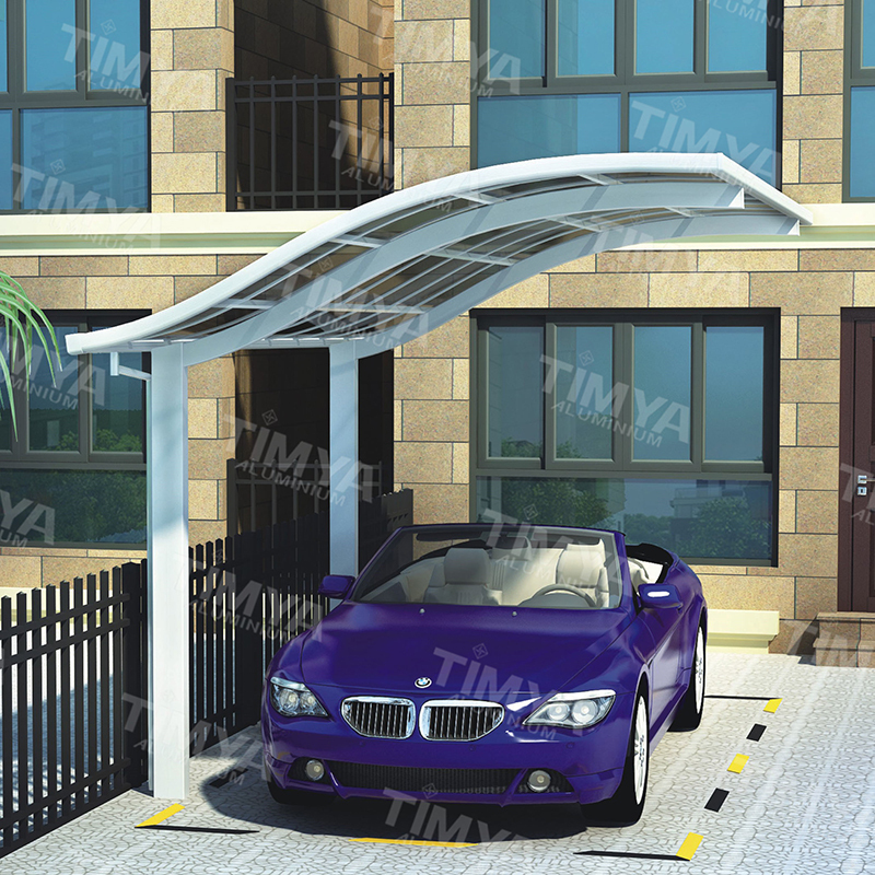 Cheap china roofing materials garage carport kits buy for Garage roofing options